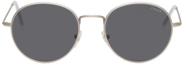 Super Silver Wire Sunglasses