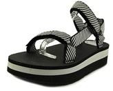 Teva Flatform Universal Open-toe Canvas Sport Sandal.