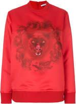 Givenchy panther print sweatshirt