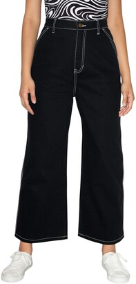 American Apparel Women's Crop Carpenter Jean