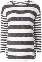 Dorothy Perkins **Maternity Navy And Ivory Stripe Jumper