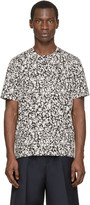 Christopher Kane Black & White Decay Print Shirt