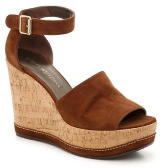 Stuart Weitzman Luxury Sohogal Wedge Sandal