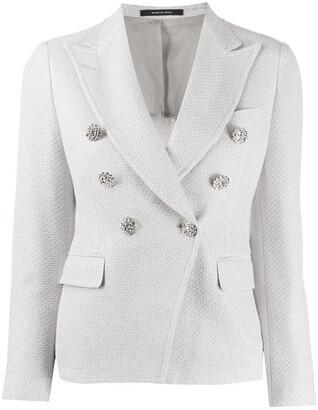 Tagliatore Jalicya embellished blazer