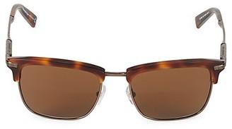 Ermenegildo Zegna 53MM Square Sunglasses