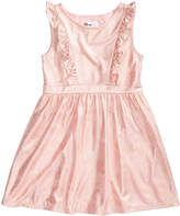 Epic Threads Ruffle-Trim Dress, Little Girls, Created for Macy's