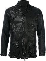 Giorgio Brato scrunch effect jacket