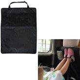 MEGOOD 2Pcs Car Seat Anti Kicking Pad,Three Layer Children Car Seat Protective Cover with Storage Organizer Pocket