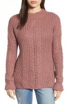 Lucky Brand Women's Open Stitch Sweater