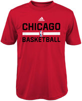 adidas Boys' Chicago Bulls Practice Wear Graphic T-Shirt