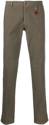 Manuel Ritz slim-fit trousers