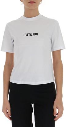 MSGM Futuro Print T-Shirt