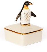 Jay Strongwater Penguin Porcelain Box