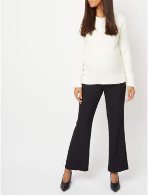George Maternity Over Bump Bootcut Trousers