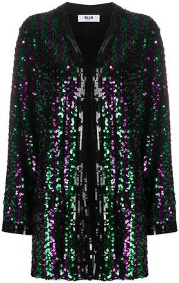 MSGM Sequin-Embellished Jacket