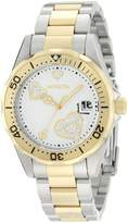 Invicta Women's Pro Diver Heart Dial Two Tone Stainless Steel Watch 12287