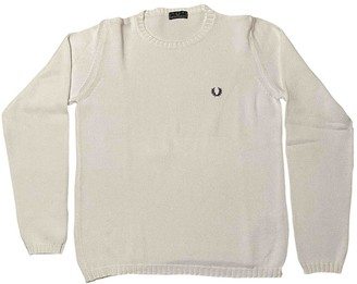 Fred Perry White Cotton Knitwear for Women
