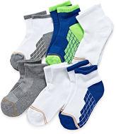 Gold Toe 6-pk. Ultra Tec Quarter Socks - Boys