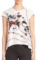 Erdem Jasmine Flared Top