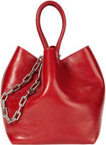 Alexander Wang Roxy Small Red Leather Tote
