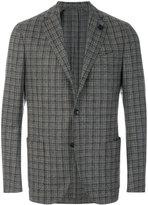 Lardini classic textured blazer
