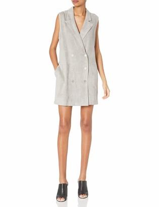 MinkPink Women's Suede Vest Dress