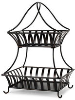 Mikasa Gourmet Basics Two Tiered Basket