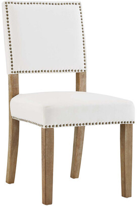 Modway Oblige Upholstered Fabric Wood Dining Chair