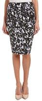 Vince Camuto Women's Broken Prism Midi Tube Skirt