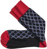 Johnston & Murphy Honeycomb Socks