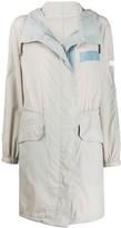 Yves Salomon Army lightweight rain coat