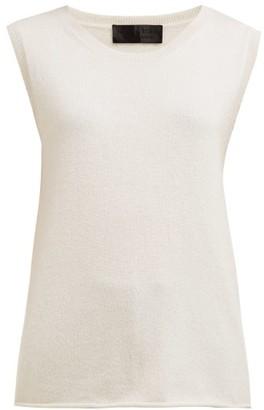 Nili Lotan Muscle Cashmere Tank Top - Womens - Ivory