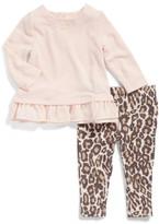 Splendid Infant Girl's Top & Print Leggings Set