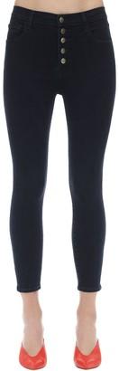 J Brand Lillie High Skinny Stretch Denim Jeans