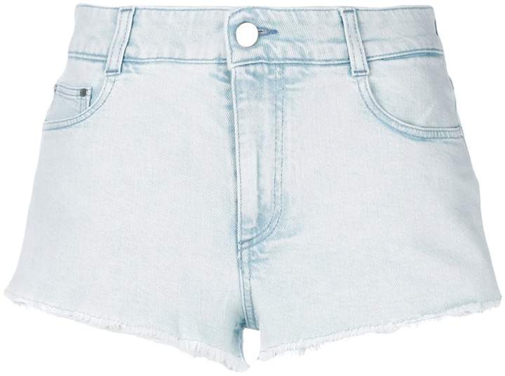 Stella McCartney cut-off denim shorts