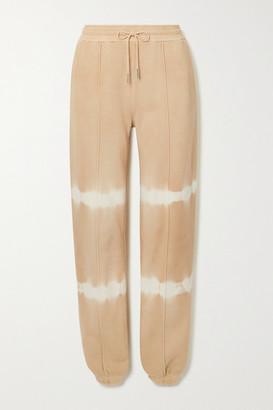 Ninety Percent Net Sustain Tie-dyed Organic Cotton-jersey Track Pants