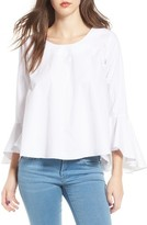 Soprano Women's Bell Sleeve Top