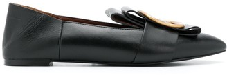 See by Chloe Flat Leather Mules