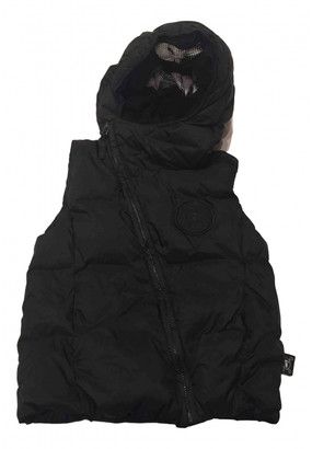 Nununu Black Synthetic Jackets & Coats