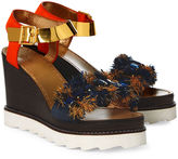 Sanchita Multi Platform Wedge Coba Sandals