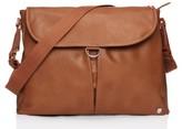 Babymel Infant Ally Faux Leather Diaper Bag - Beige