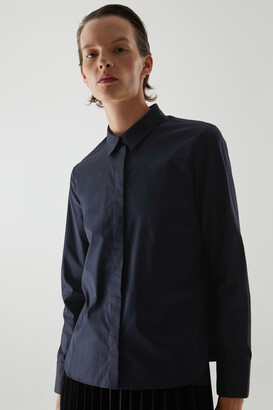Cos Cotton Slim Fit Shirt