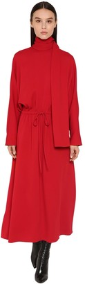 Valentino SABLE FLUID DRESS W/SCARF
