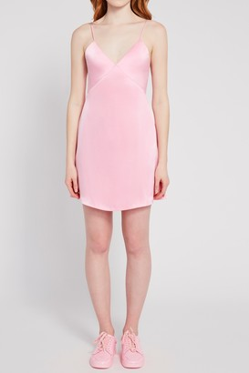 Alice + Olivia Melinda Seamed Slip Dress