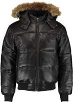 Schott NYC Leather jacket black