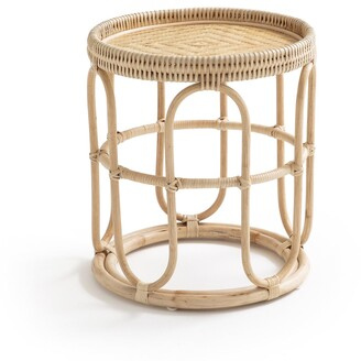 Am.pm. Aloki Side Table in Rattan & Bamboo