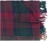 Comme des Garcons plaid scarf