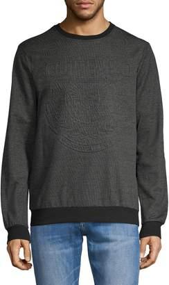 Buffalo David Bitton Logo Pullover Sweater