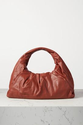 Bottega Veneta The Shoulder Pouch Medium Gathered Leather Bag - Brown