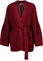 Etoile Isabel Marant Floyd Cable-Knit Cotton-Blend Cardigan